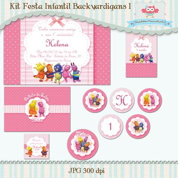 Kit Festa Infantil Backyardigans I