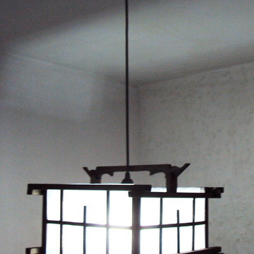 lustre oriental rustico sala restaurante