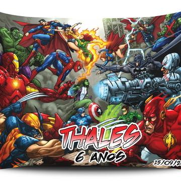 Almofada Personalizada Vingadores 17