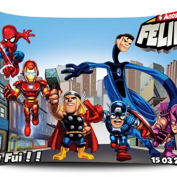 Almofada Personalizada Vingadores 21