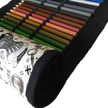 Estojo de Rolinho - 60 lápis