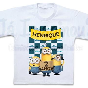 Camiseta Minions Modelo 4