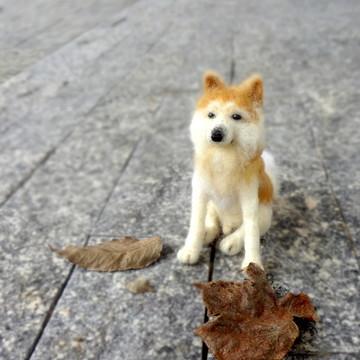Akita - Miniatura de cachorro