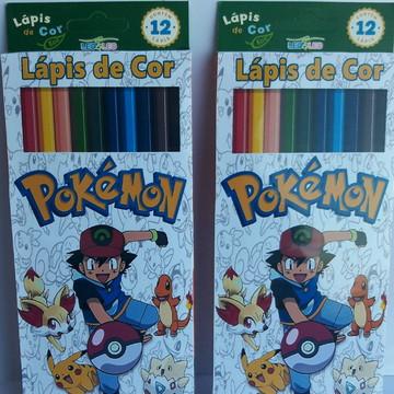 Lápis de cor Pokemon