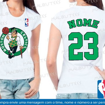 baby look feminina basquete boston