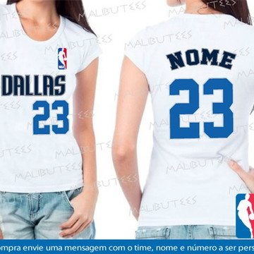 baby look feminina basquete dallas