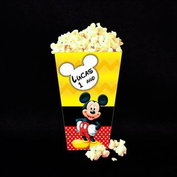 Caixa p/ Pipocas Mickey