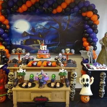 Decoração rústica halloween