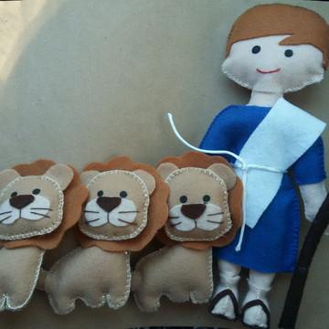 Kit Daniel na cova dos leões