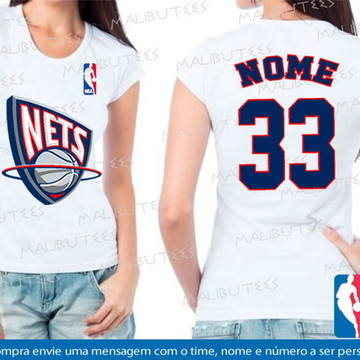 baby look basquete nets