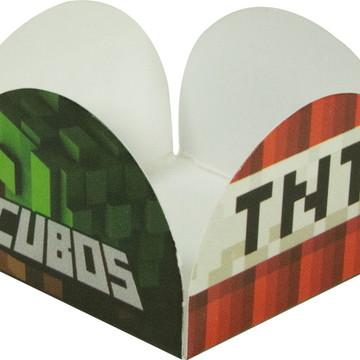Forminhas 4 petalas - Cubos