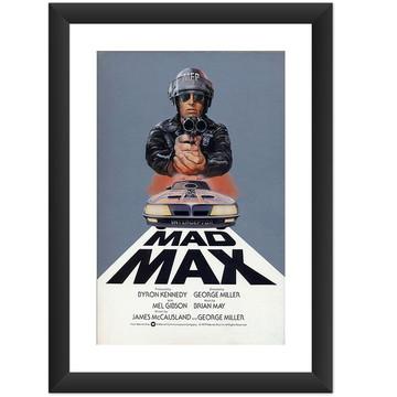 Quadro Mad Max Filme Retro Poster Arte