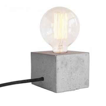 Luminária Quadrada de Concreto