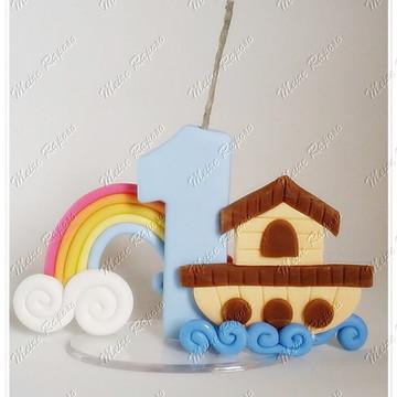 Vela Personalizada Arca de Noé