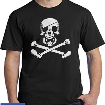 2482- camisetas mickey caveira