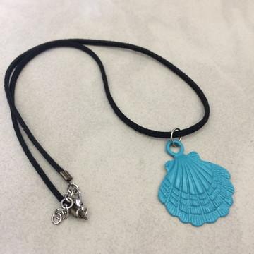 Colar Mermaid turquesa
