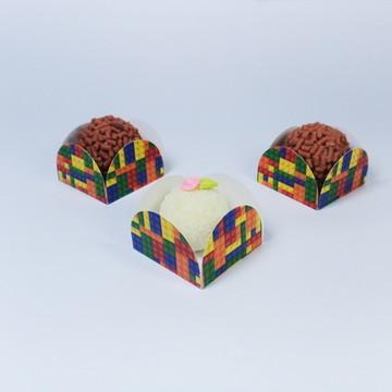 Forminhas 4 petalas - Lego