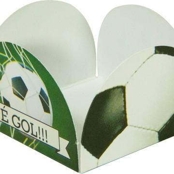 Forminhas 4 petalas - Futebol