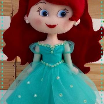 Ariel Princesa e Ariel Sereia