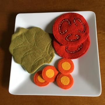 Salada para educação alimentar
