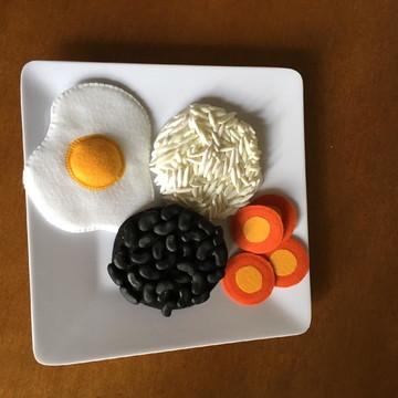Refeição 1 para educação alimentar