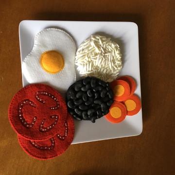 Refeição 2 para educação alimentar