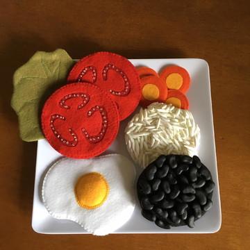 Refeição 3 para educação alimentar