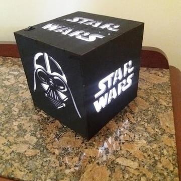 Luminaria Star Wars em mdf
