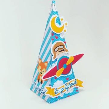 Caixa Pirâmide Pequeno Principe
