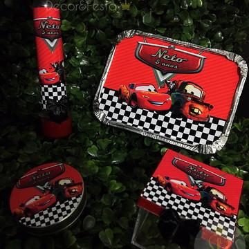 Kit 100 Lembrancinhas carros Disney