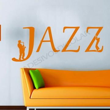 Adesivo - MUSICAIS - Music Jazz
