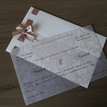 Convite Casamento Elegante I
