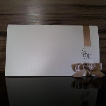 Convite Casamento Elegante II