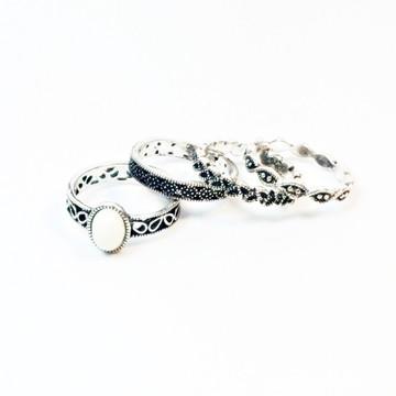 Kit de anéis bijoux 18