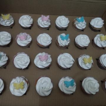 Mini Cupcakes - Borboletas