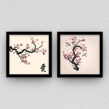 Quadro: Árvore japonesa