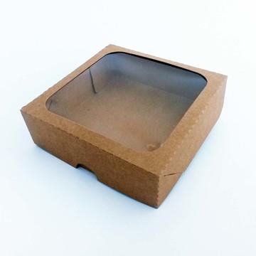 Caixa Visor Quadrado -12,5 x 12,5 x 4 cm - KR