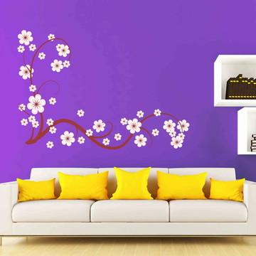 Adesivo Galho Flores / cerejeira