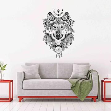 Adesivo Decorativo Lobo