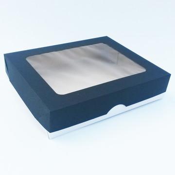 Caixa Visor Retangular - 19 x 15,5 x 4 - PT