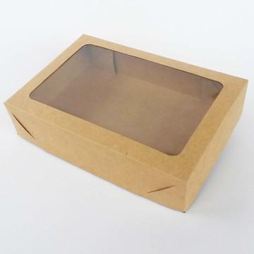 Caixa Visor Retangular - 18,5 x 12,5 x 4 - KR