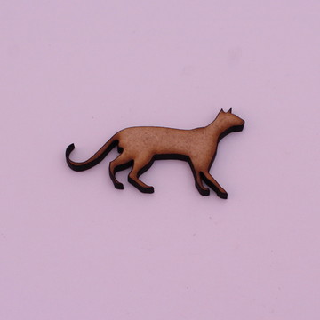 Aplique/Recorte/Pingente - laser - gato