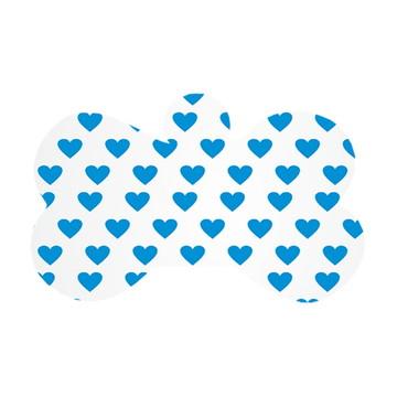 Ossinho Mini Corações Azul