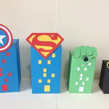 caixa prédio Super Heroi