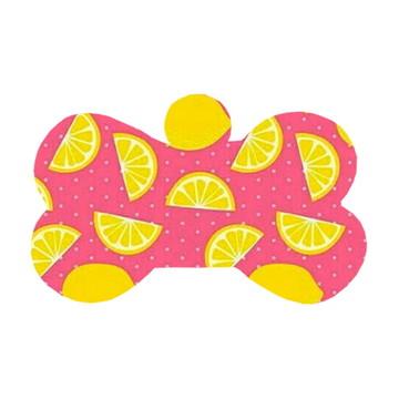 Ossinho Limão Fundo Rosa