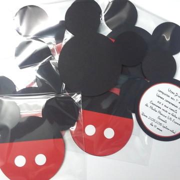 Convite Mickey 12x12