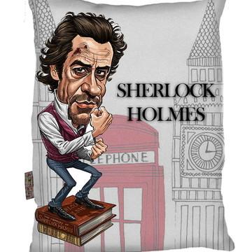 Almofada Sherlock Holmes 4