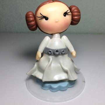 Princesa Leia em Biscuit
