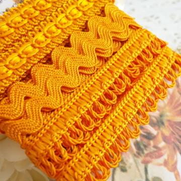kit de aviamentos cor de laranja