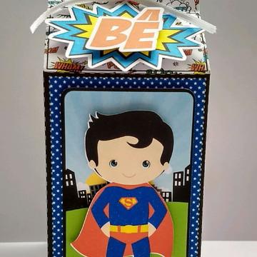 Caixa Milk Super Heróis